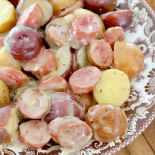 Crock Pot Sausage and Little Potatoes