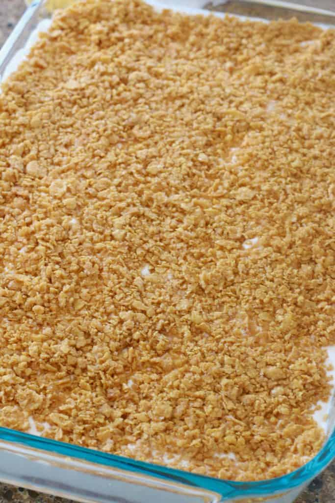 crushed corn flake topping for fried ice cream