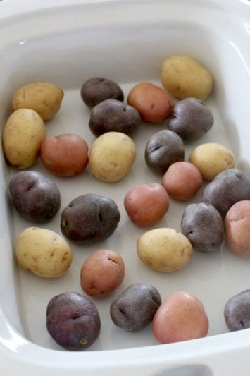 Little Potatoes in slow cooker