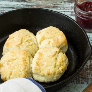3-Ingredient Biscuits ~ Weekend Potluck #237