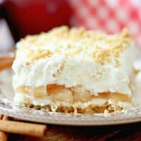 NO-BAKE APPLE YUM YUM DESSERT RECIPE