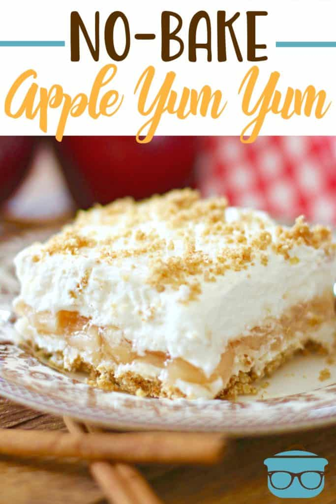 No-Bake Apple Yum Yum recipe from The Country Cook