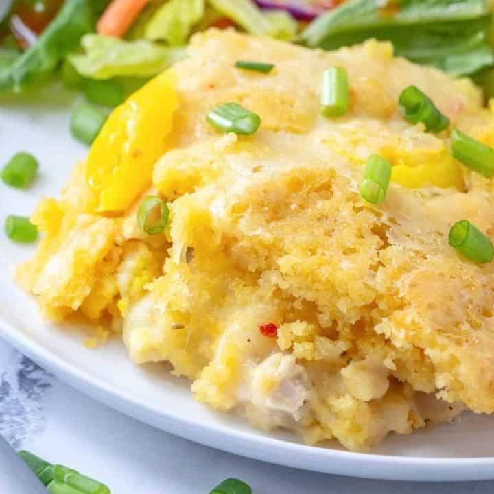 Easy Cornbread Chicken Casserole recipe