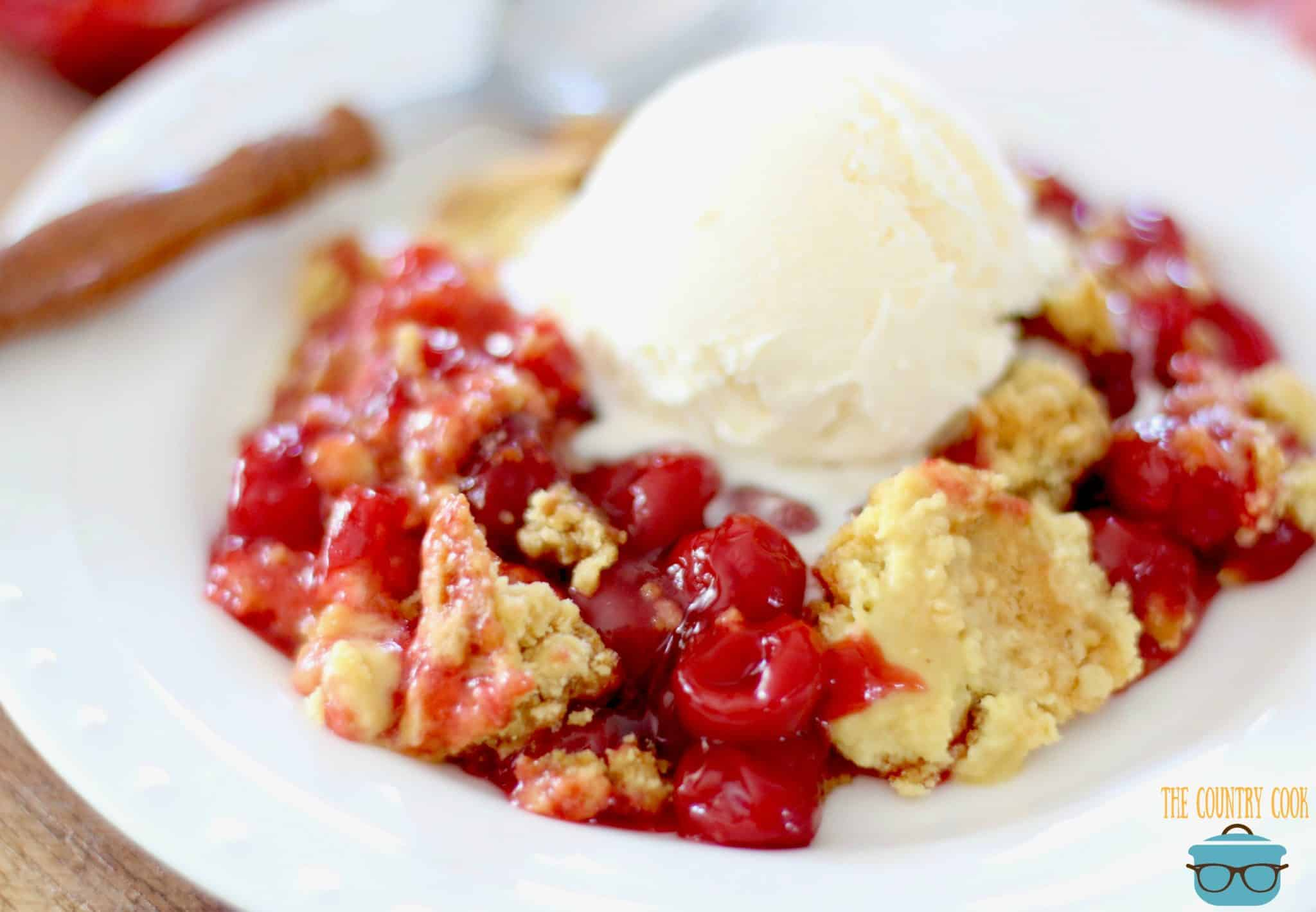 Cherry Dump Cake Recipe Rating