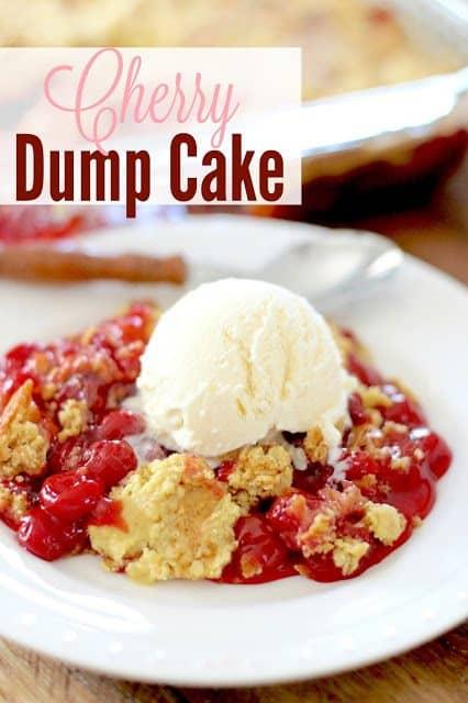 Best Cherry Dump Cake Recipe