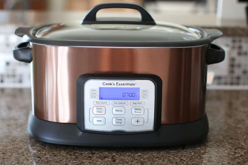 covered slow cooker