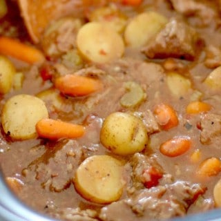 Crock Pot Chunky Beef & Potato Stew