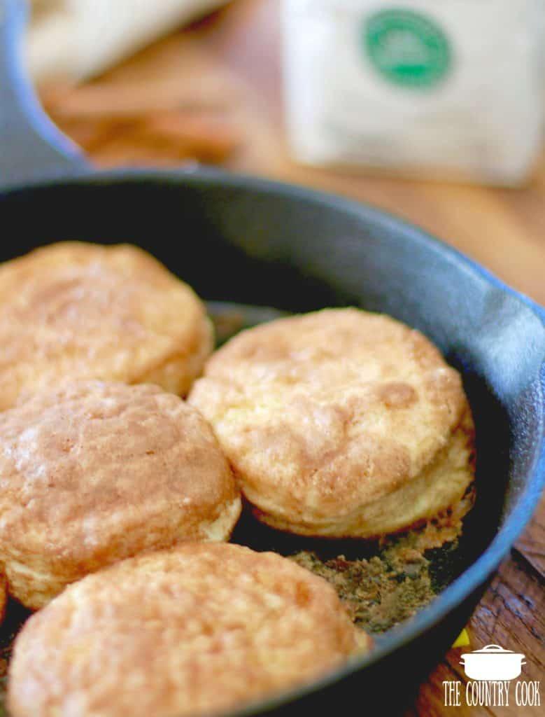 Cinnamon Sugar Skillet Biscuits