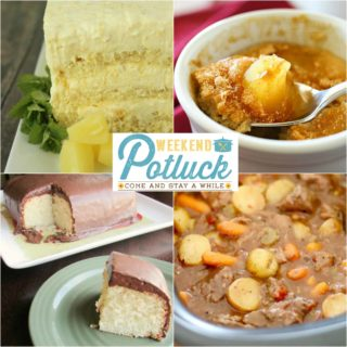 Weekend Potluck #242 ~ Easy Pineapple Cake