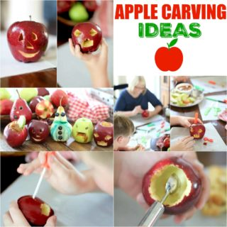 apple-carving