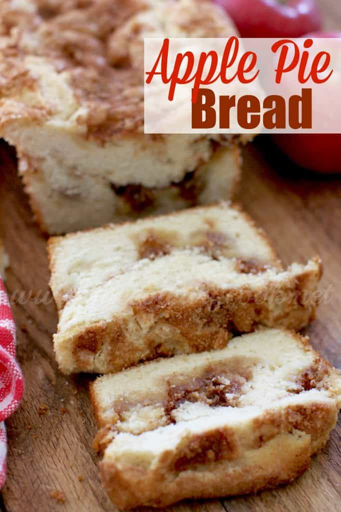 Apple Pie Bread recipe from The Country Cook