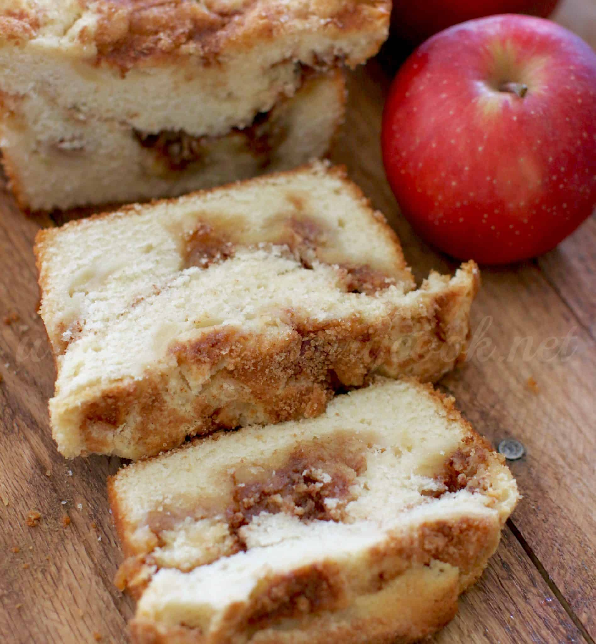 apple-pie-bread (copyright, thecountrycook)