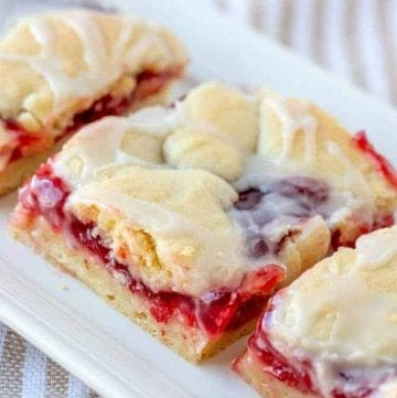 Cherry Pie Bars recipe