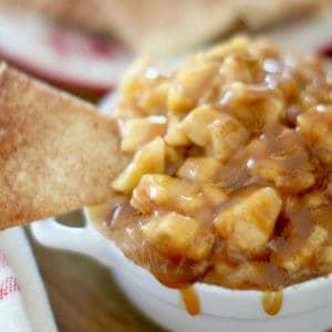 Crock Pot Caramel Apple Pie Dip