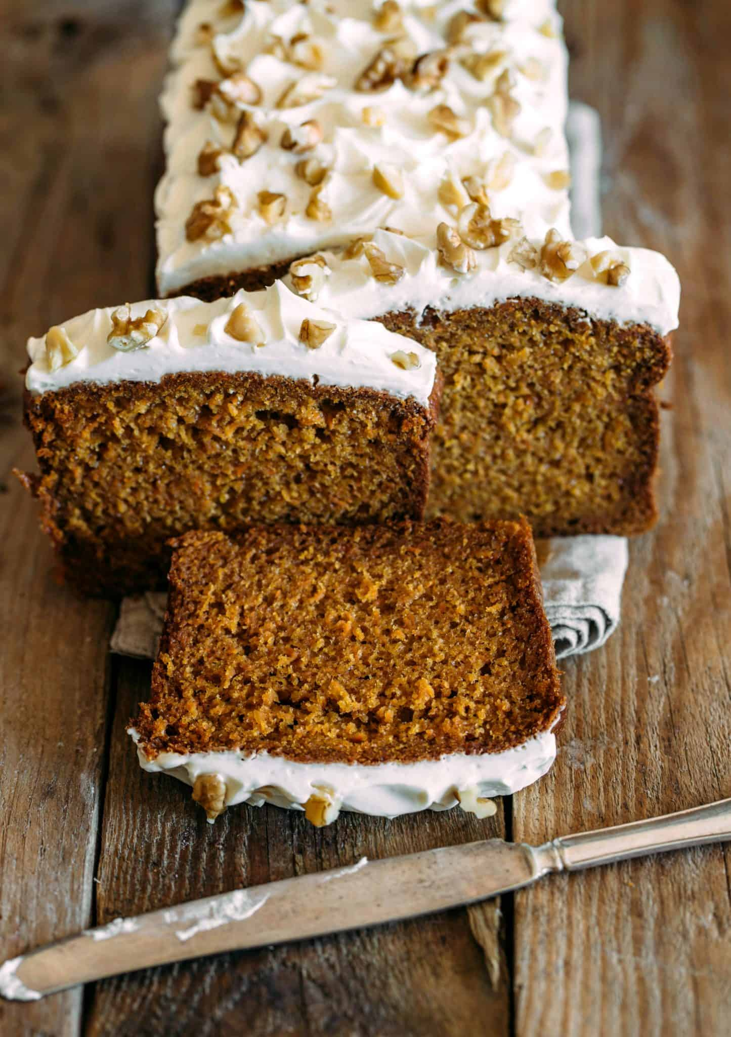 Copycat Starbucks Gingerbread Loaf With Cream Cheese