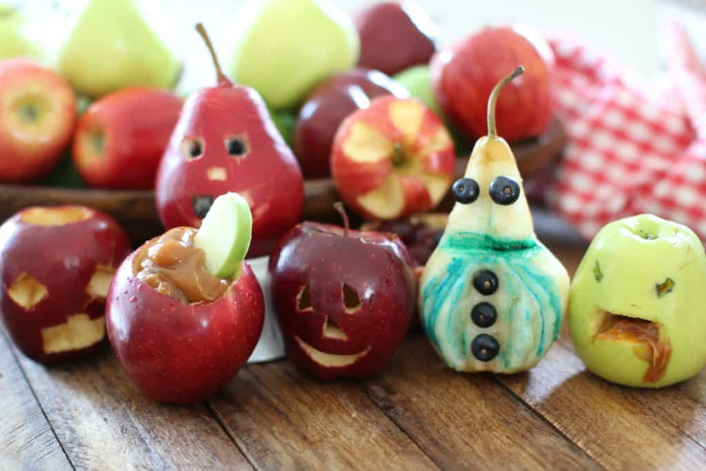 Carved Apples