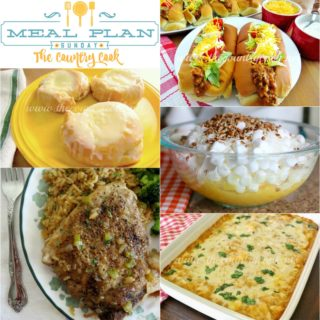 Meal Plan Sunday #3 at The Country Cook