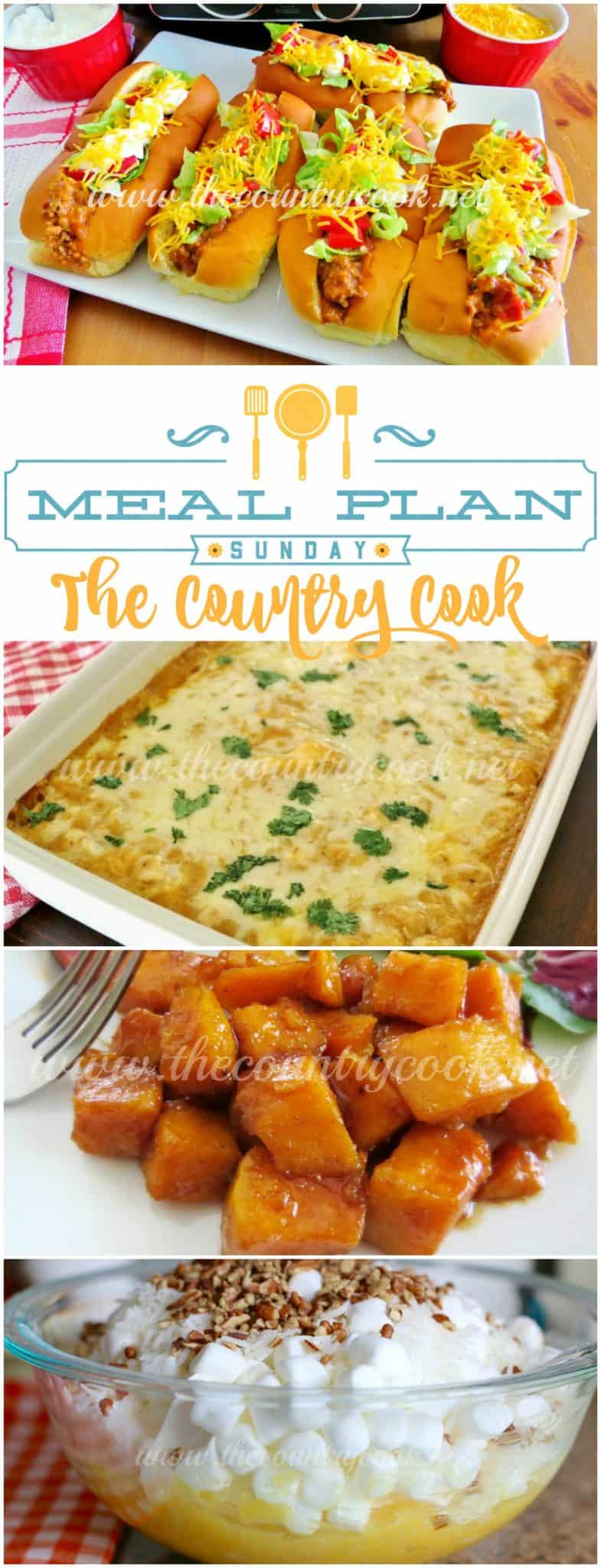 meal plan sunday 3 includes dinner ideas for the whole week