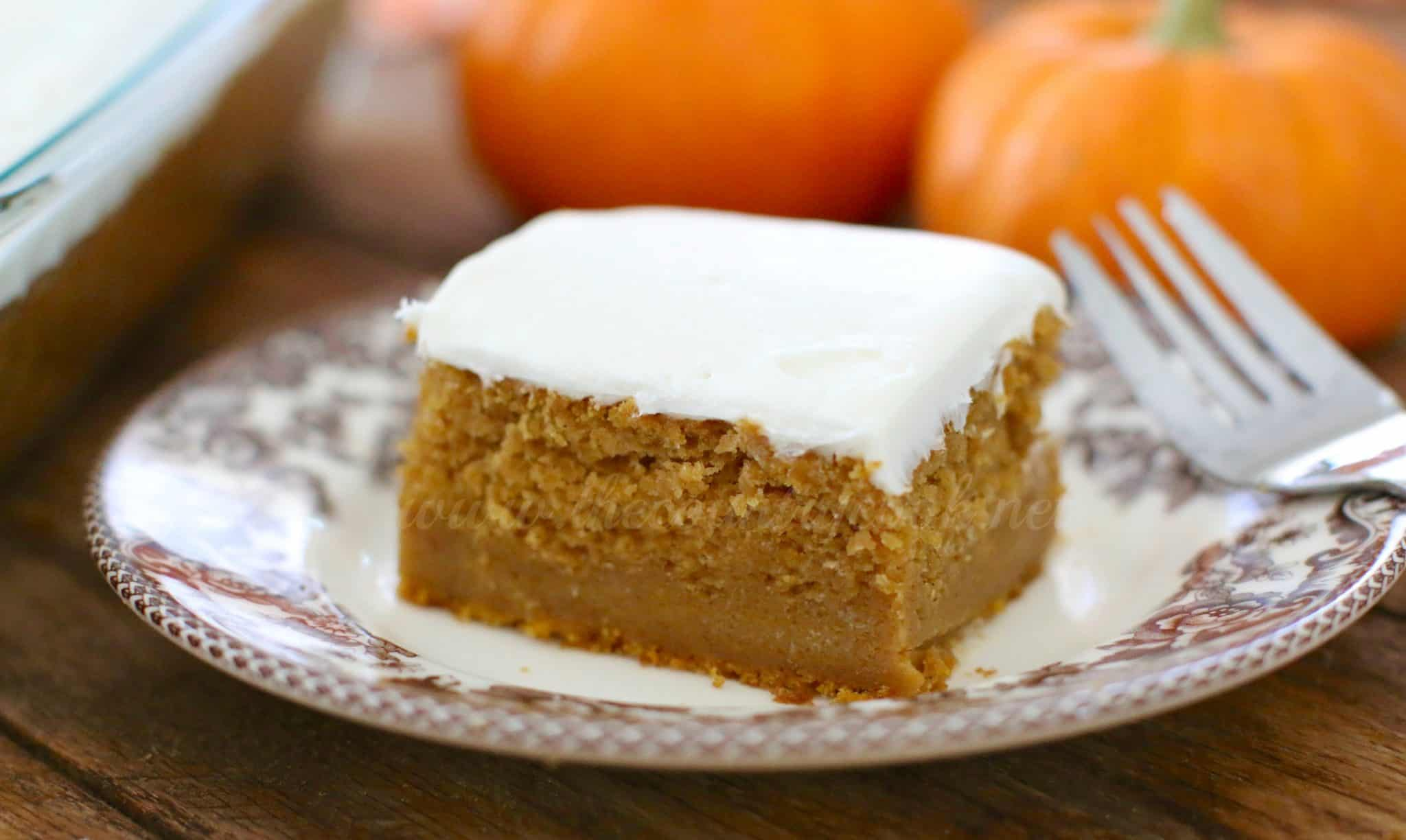 Pumpkin Cake Recipe Using Cake Mix