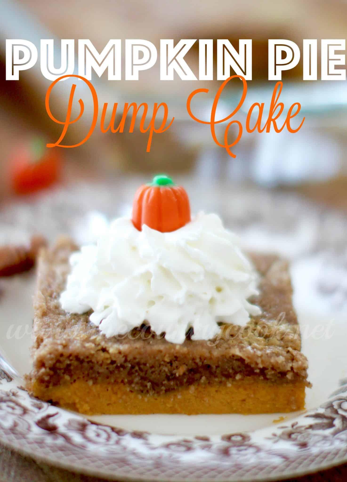 Pumpkin Layer Magic Cake