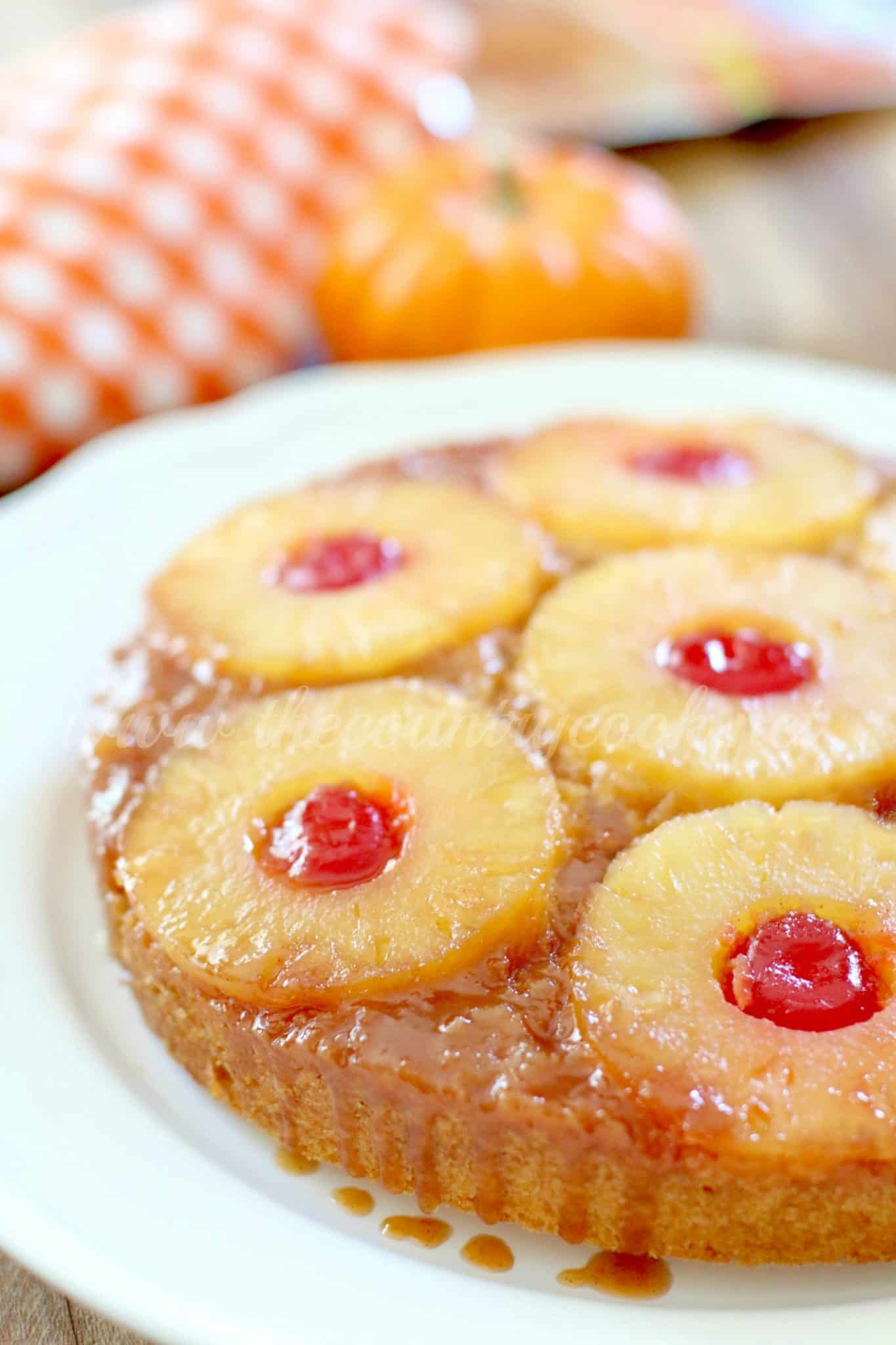 Pumpkin Pineapple Upside Down Cake The Country Cook