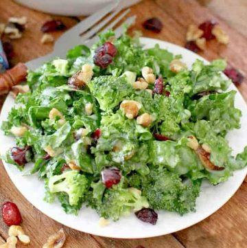 The Best Kale Salad recipe