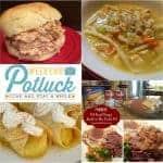 Copycat Bob Evans Chicken & Noodles Soup ~ Weekend Potluck #244