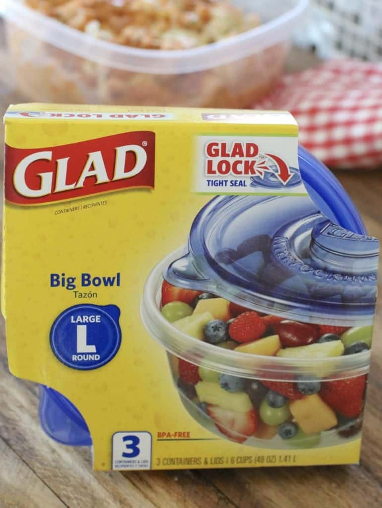 Large Glad Ware container