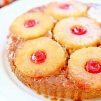 Pumpkin Pineapple Upside Down Cake recipe