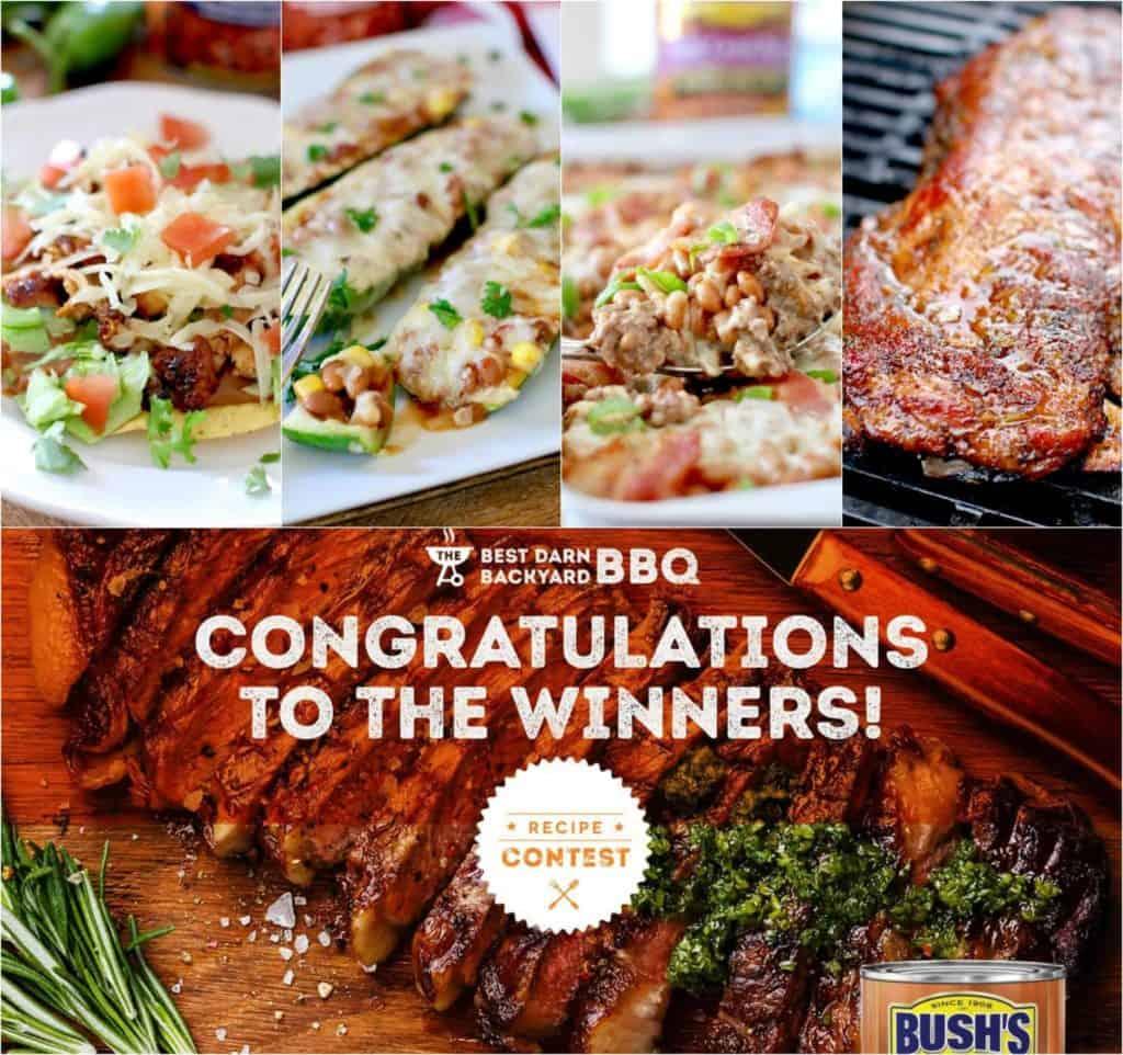 BUSH'S BEST BACKYARD BBQ WINNERS