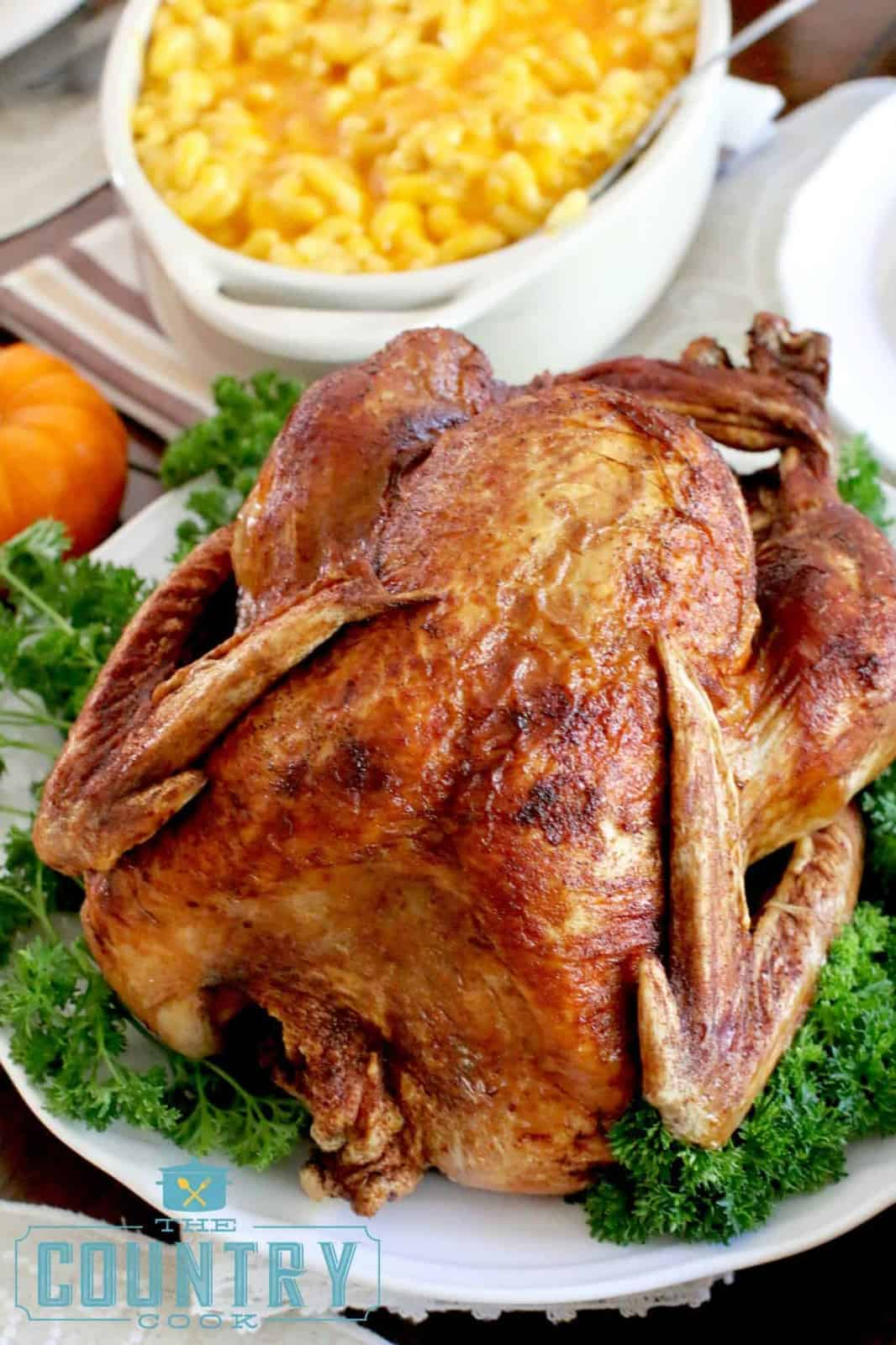 How To Fry A Turkey The Country Cook Main Dishes