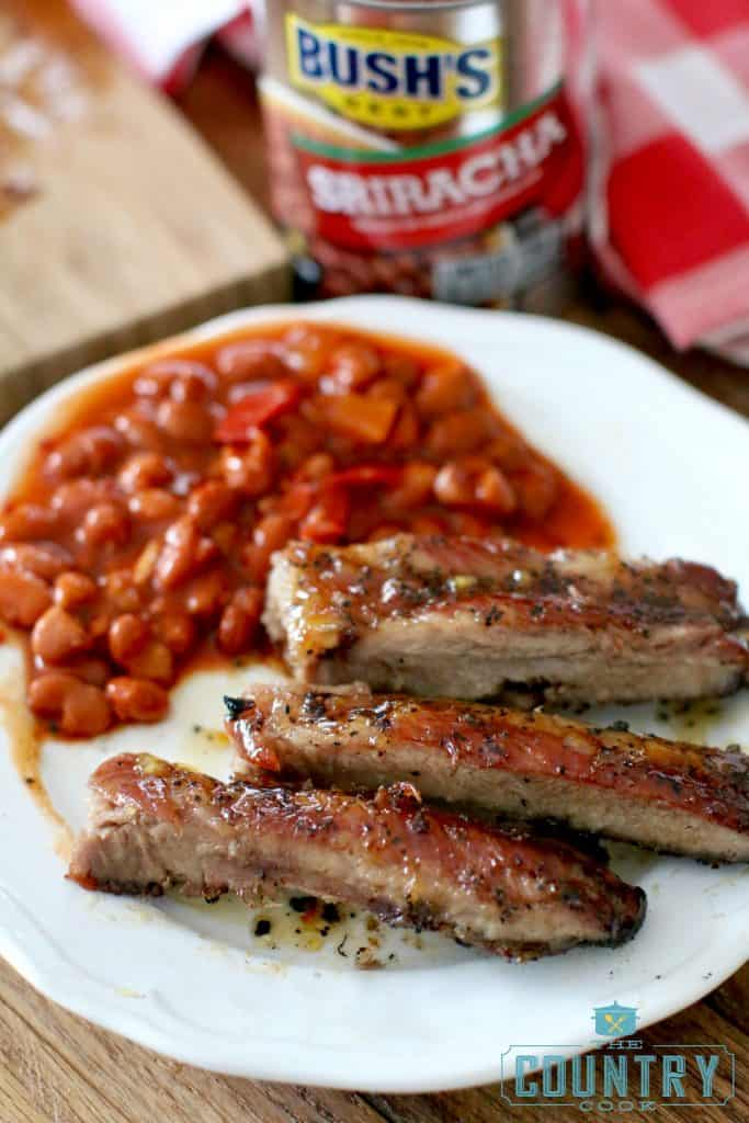 Grilled Orange Honey Ribs recipe from The Country Cook