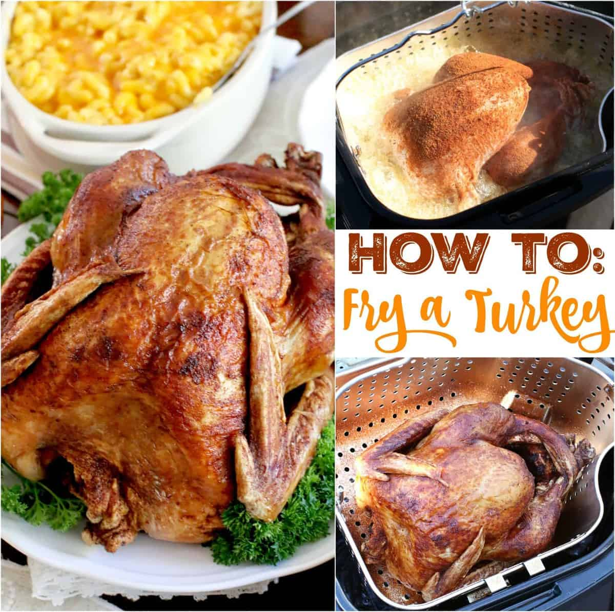 deep fry turkey instructions