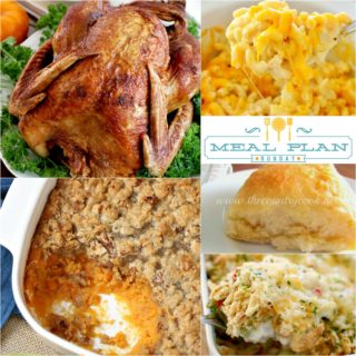 Thanksgiving Recipes ~ Meal Plan Sunday #8
