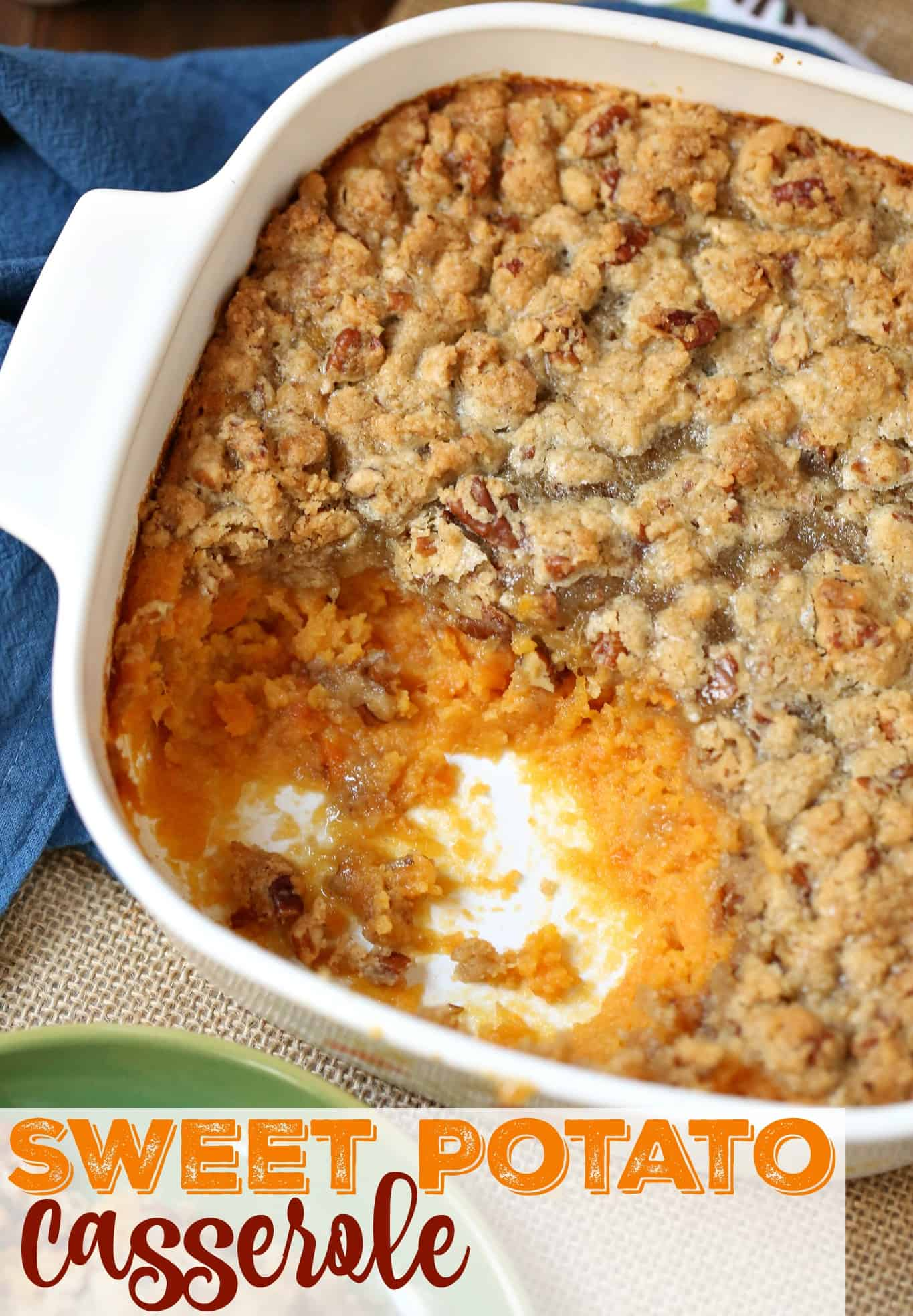 Easy Sweet Potato Casserole The Country Cook Side Dishes