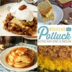 Weekend Potluck #248 ~ Pecan Pie Cake