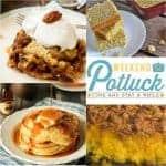 Weekend Potluck #248 ~ Pecan Pie Cake