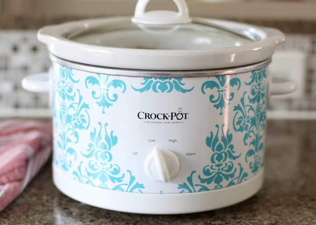 Crock Pot Creamy Hot Chocolate recipe from The Country Cook
