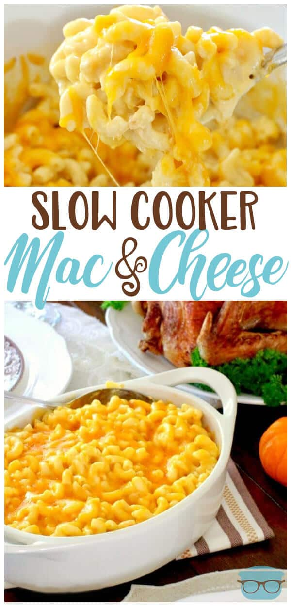 Slow Cooker Macaroni and Cheese (or Crock Pot Mac and Cheese) is a creamy, cheesy and easy macaroni and cheese recipe that you just can't mess up! #crockpot #macandcheese
