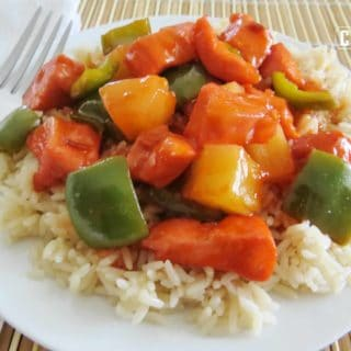 Baked Sweet & Sour Chicken a.k.a. Apricot Chicken