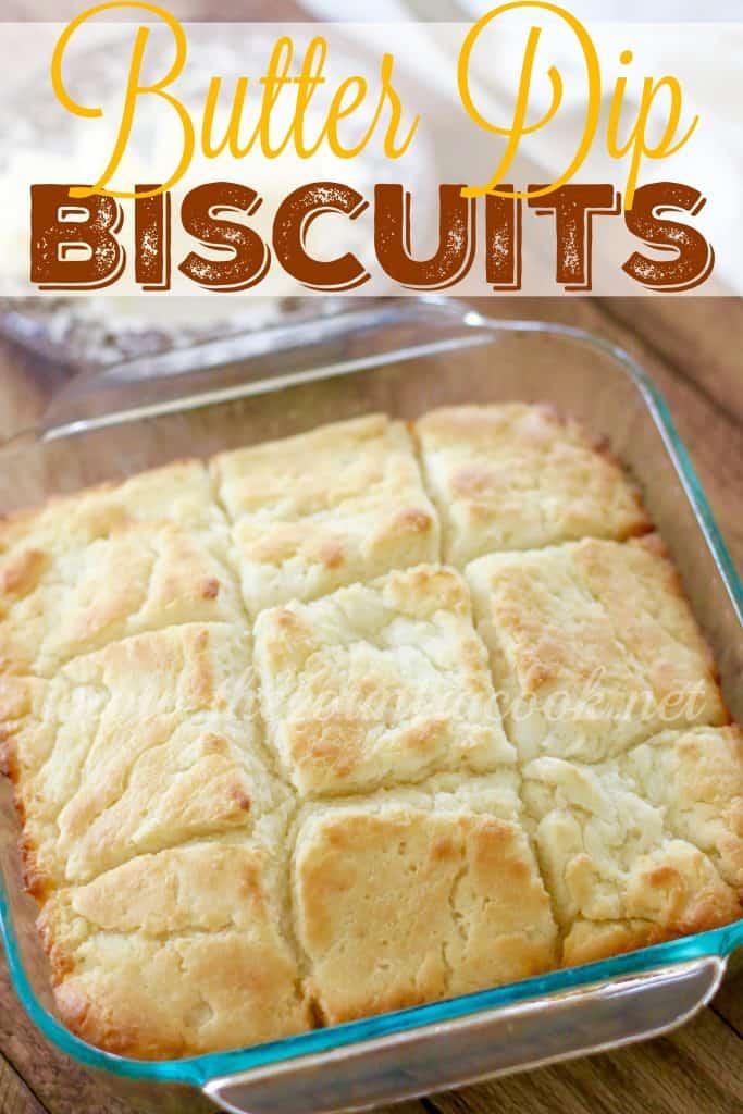 Butter Dip Buttermilk Biscuits
