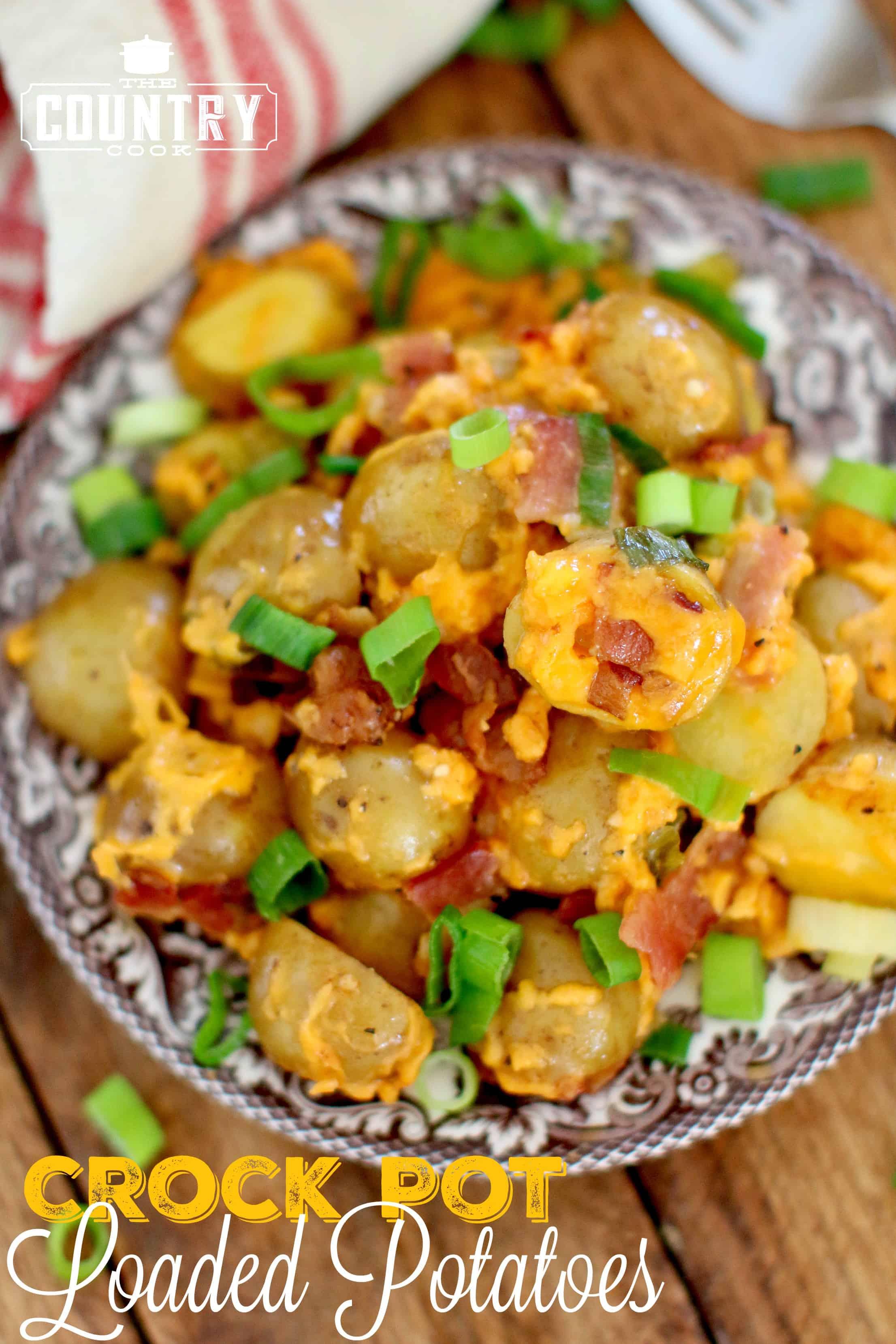 Baby red potato recipes crock pot