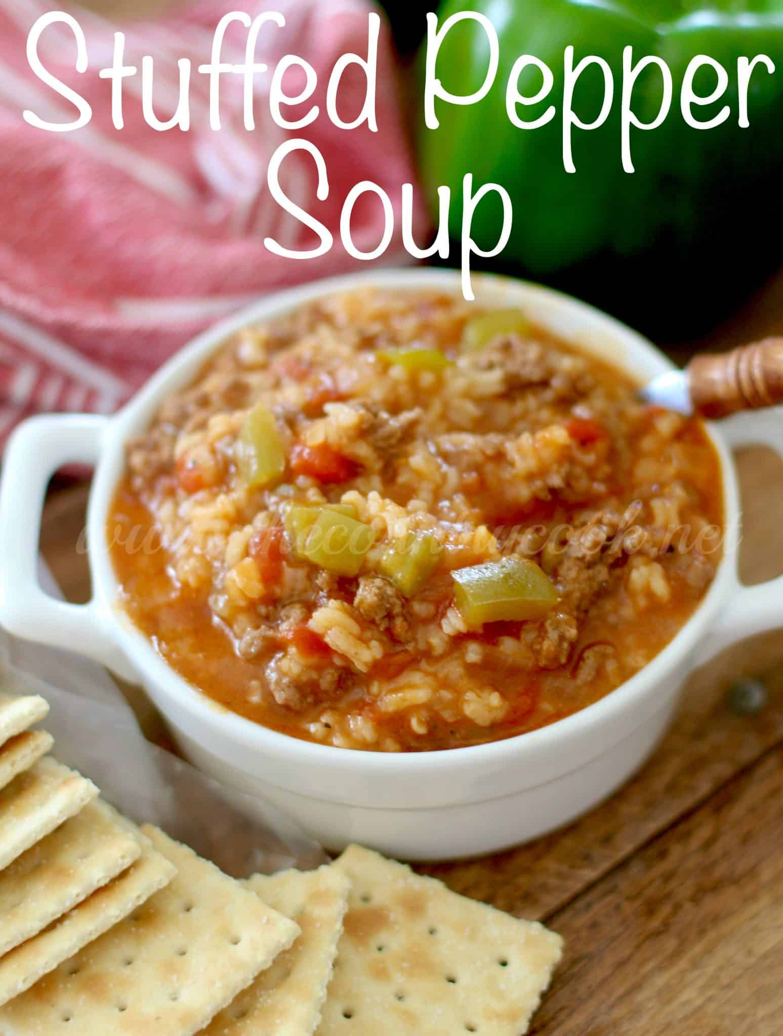 Stuffed pepper soup copyright thecountrycook the stuffed pepper soup forumfinder Image collections
