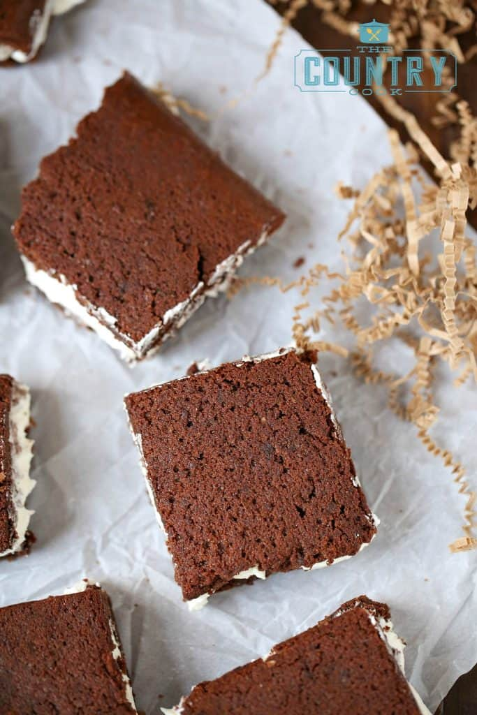 Suzy-Q Brownies recipe at The Country Cook