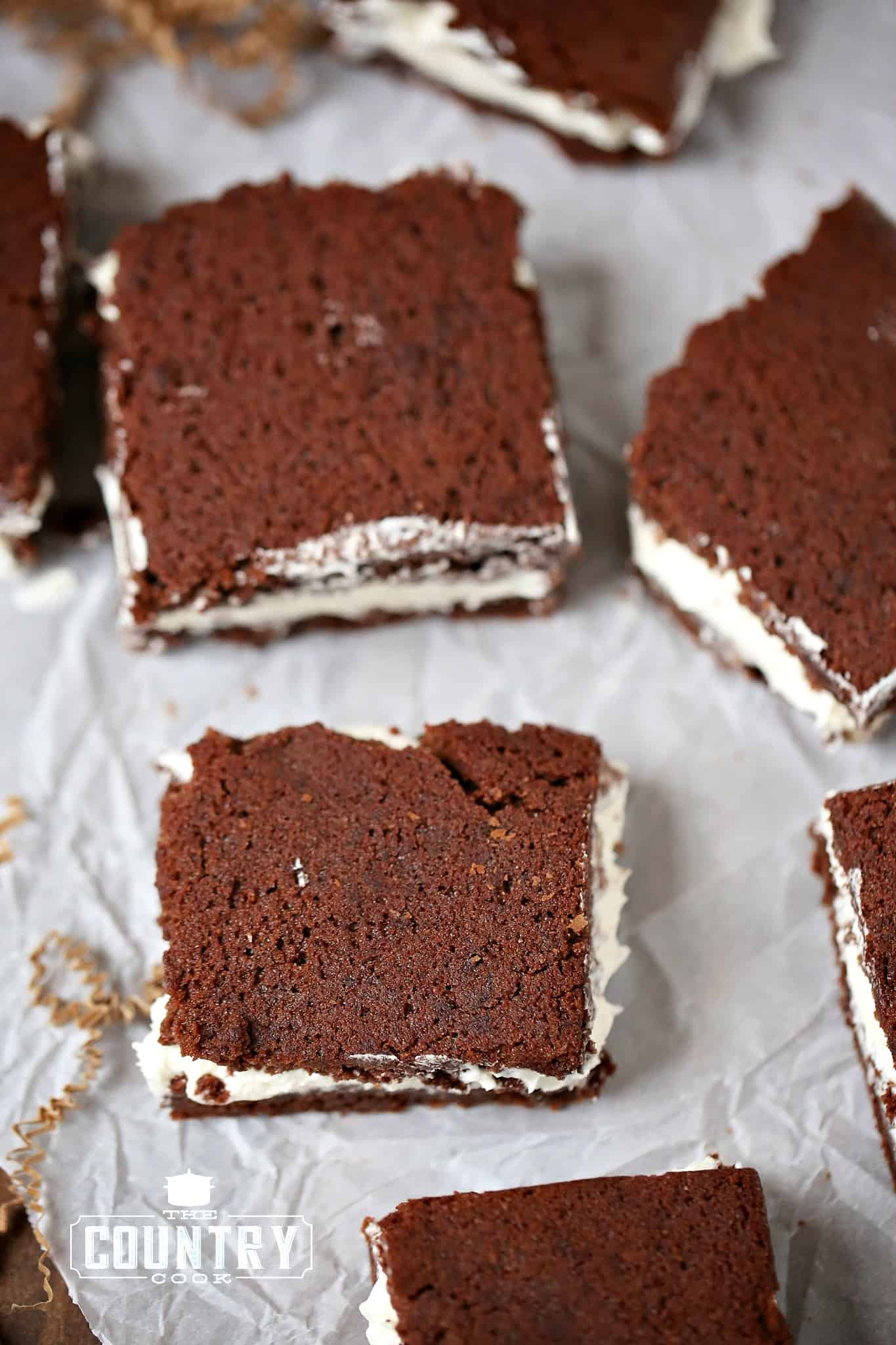 Suzy Q Brownies Recipe At The Country Cook