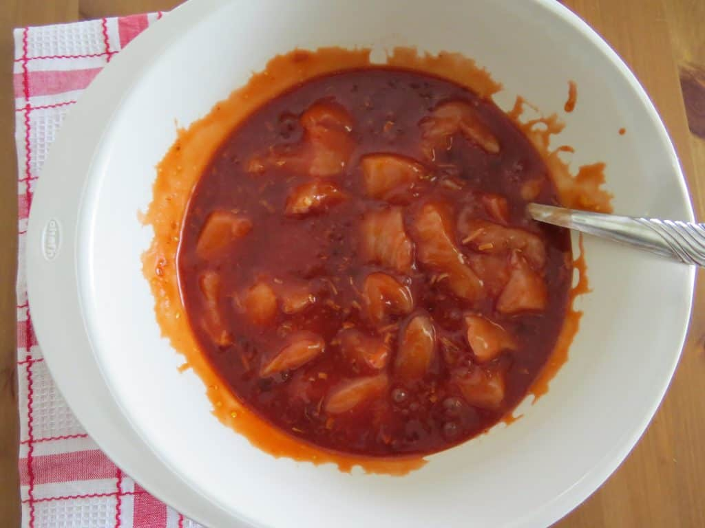 Baked Sweet and Sour Chicken a.k.a. Apricot Chicken