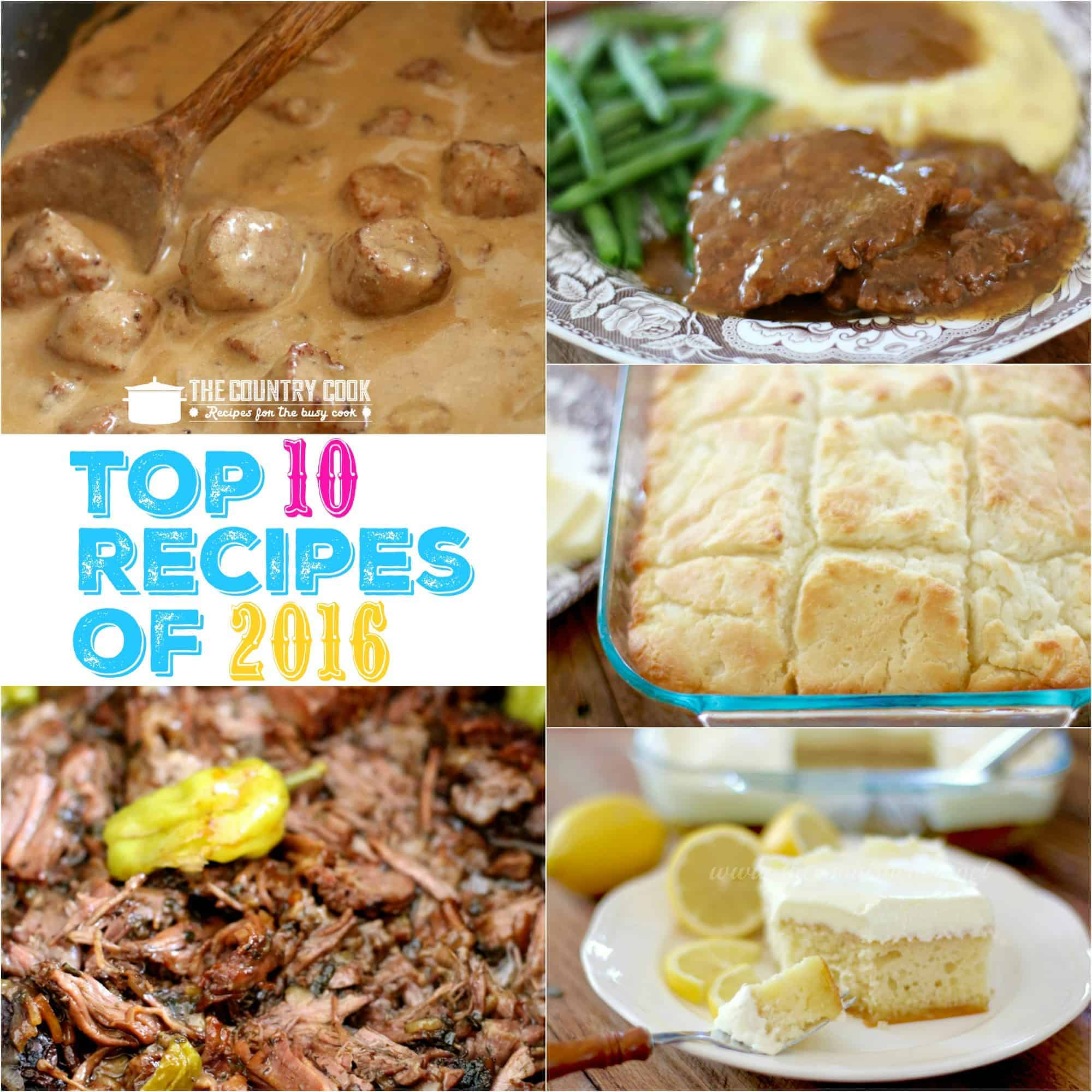 Top 10 recipes of 2016 the country cook forumfinder Image collections