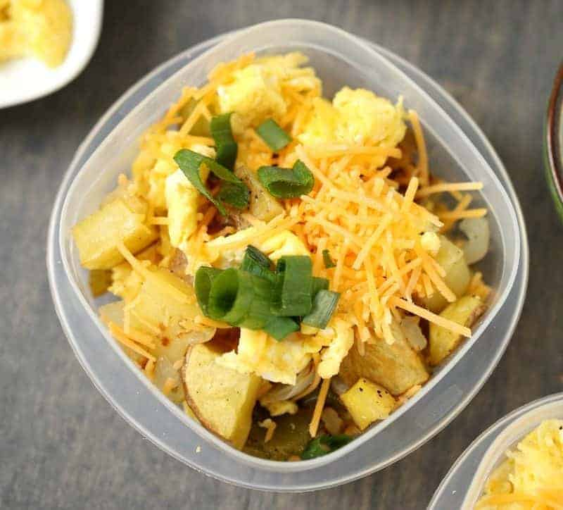 Make-Ahead Breakfast Bowls