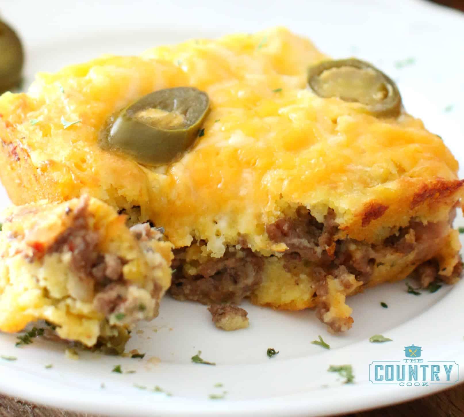 recipe: mexican cornbread casserole recipe ground beef [20]