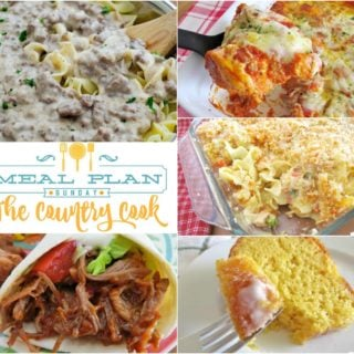 Chicken Noodle Casserole at Meal Plan Sunday #14